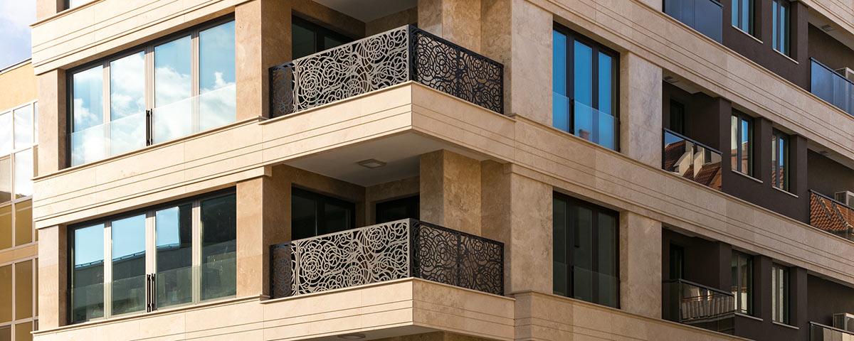 انواع نمای ساختمان