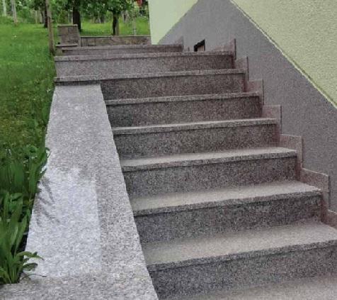 سنگ گرانیت و کاربرد آن در راه پله